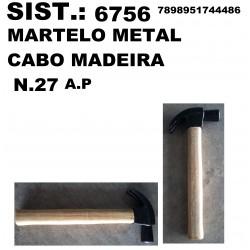 MARTELO DE METAL COM CABO...